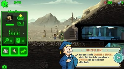 Скриншоты из Fallout Shelter
