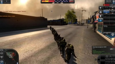 Скриншоты из World in Conflict