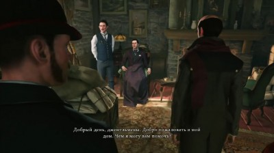 Скриншоты из Sherlock Holmes: The Devil's Daughter