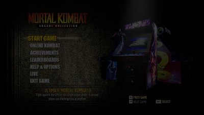 Скриншоты из Mortal Kombat Arcade Kollection