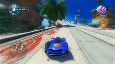 Скриншоты из Sonic and Sega All-Stars Racing