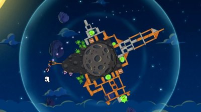 Скриншоты из Angry Birds Space
