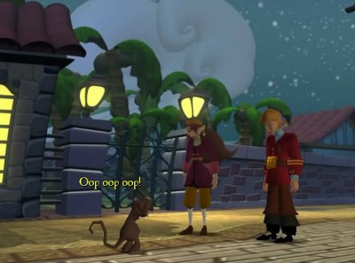 Скриншоты из Escape from Monkey Island